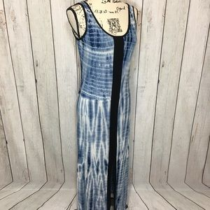 Lapis Tidal Maxi Dress Women's Size PS NWT